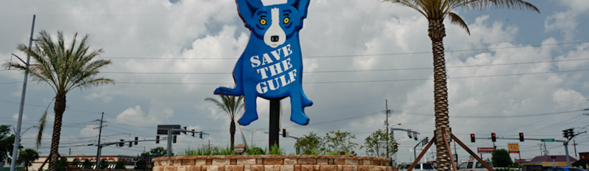 Blue Dog - Save the Gulf
